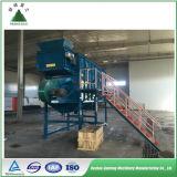 Basura urbana automática de la planta de reciclaje de basura municipal que clasifica a Rdf