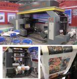 Machines d'impression de Flexo de film plastique de couleur racleur 4