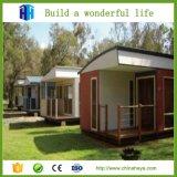 A qualidade superior fêz pre casas de registro de madeira modernas norueguesas