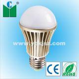 Elegância cor champanhe 6W E26/E27 Lâmpada Globo/Luz de LED com marcação CE,RoHS,Certificados Pse