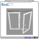 에너지 효과 알루미늄 다른 색깔을%s 가진 단면도에 의하여 이중 유리로 끼워지는 여닫이 창 Windows