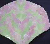 Bello mosaico malva della giada, mosaico del getto di acqua del fiore, mattonelle di pavimento di marmo