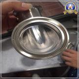 L'acier inoxydable Chaud-Appuient le coude 304L de Placer-Soudure