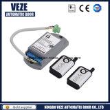 Operador de cristal automático de la puerta deslizante de Veze con el regulador de Digitaces