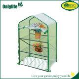 Onlylife 4 níveis da estrutura de PC Jardim Dobrável estufa pl