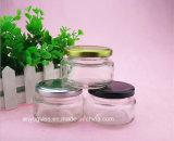 Jam Jar 100ml en verre pour l'alimentation, la sauce, salade de bouteilles de stockage