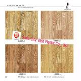 Linoleum de madera o de mármol Revestimiento de fieltro Suelo de PVC Alfombra