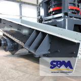Alimentateur vibrant à prix réduit Sbm pour usine de concassage de pierre