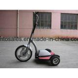 500W de grote Volwassen Vouwbare Elektrische Autoped van de Macht met Zetel voor Verkoop