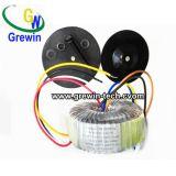 アンプのための電源の円環形状の変圧器