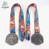 安い卸し売り試供品Diaの鋳造のカスタム金属のマラソンの連続したスポーツメダル