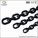 Schwarze anhebende Link-Kette des legierten Stahl-G80