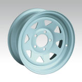 roda triangular 5-120.65 do reboque 14X6