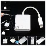 8pin bianco Lightning alla deviazione standard Card Camera Reader (ASC-049)