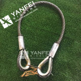 Eslinga de alambre para cuerda de alambre
