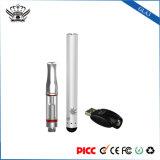 Vaporizer de vidro do petróleo de cânhamo do E-Cigarro do atomizador da bateria 280mAh 0.5ml do toque do botão