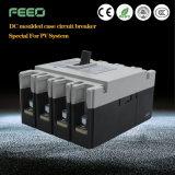 La corriente directa aplicación PV disyuntor de caja moldeada
