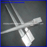 71X71mm гальванизировали спайк поддержки столба загородки металла управляемый вниз с анкера столба