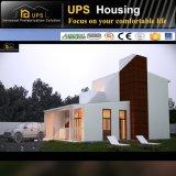 Le modèle moderne de vente chaude a pré fait l'acier de luxe préfabriquer des villas