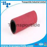 Vermelho de Alta Pressão alta qualidade a mangueira de vapor 1/2-4 Polegada