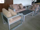 プラスチック木製の家具の屋外の家具