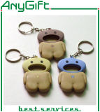 3D pvc Keyring van SOFT met SHAPE Customized en Logo