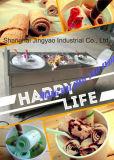 يقلى [إيس كرم] آلة [دووبل بن] شنغهاي جعل مصنع آلة