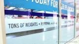 Стикер Собственной личности-Adheaive стены стекла офиса Крытый Цифров Печатание Компании/окна