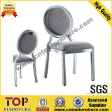Alumínio Elegante do Banquete do Hotel Que Janta Cadeiras