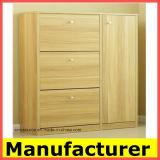 لوح أسلوب خشبيّة ويعيش غرفة أثاث لازم خشبيّة حذاء خزانة