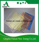 Cascos del barco de la fibra de vidrio del acoplamiento de la fibra de vidrio 145G/M2 de la muestra libre 4X4m m para la venta