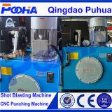 Punzonadora hidráulica del CNC de la venta 4 del índice auto caliente de Aixs con el marco cercano