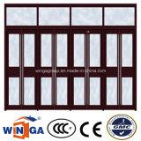 Marque de Wanjia populaires de verrouillage de sécurité porte métallique en acier (W-S-133)