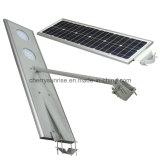 Al aire libre luces solares integrados de la energía solar luces de calle lámpara solar más barato para la venta