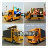 Caminhão móvel do anúncio de tela do diodo emissor de luz de 4*2 Sinotruk HOWO