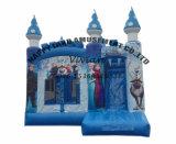 Het bevroren Opblaasbare Kasteel van Bouncy van de Uitsmijter Elsa met Dia