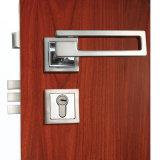 Zink-Legierungs-Wohninnenhebel-Quadrat-Rosen-Tür-Griff-Verschlüsse