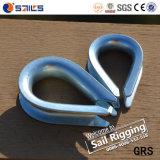 炭素鋼のGalvanzied DIN6899bワイヤーロープの指ぬき