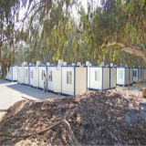 Casa de aço acessível com certificação CE (KXDCH10)