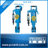 Forage de roche à main plus efficace Yt24 pour les opérations de forage