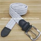 Cinghia Braided bianca del Knit della striscia del lint di modo