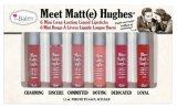 Vendita! Il raduno Matt (e) edizione del balsamo di Lmtd del mini kit liquido dei rossetti del Hughes 6 nuova