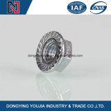Noix hexagonales en acier inoxydable avec bride M3-M24