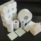 papel de /Toilet del papel de tejido de la pulpa de madera 100%Virgin