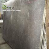 タイルの壁の装飾的な平板を舗装するカウンタートップの床のための灰色の大理石の平板