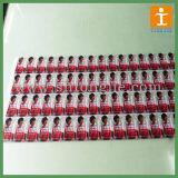 Самоклеящаяся виниловая пленка деловых обедов рекламные наклейки (TJ-013)