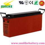 Buena batería del acceso terminal 12V100ah del frente del surtidor para el almacenaje solar