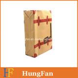 Gute Einkaufstasche Preisdrawstring-Kraftpapier-Brown für Verkauf