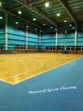 最もよい価格の2018年の中国PVC工場販売のバスケットボールPVCスポーツのフロアーリング10mm