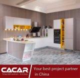 Modules de cuisine lustrés élevés modernes personnalisés de laque de modèle neuf